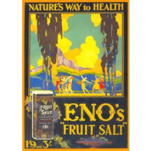 Enos Fruit Salt Postcard