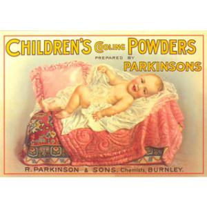 Parkinsons Baby Powder Postcard