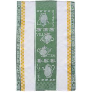 Tea & Coffee Jacquard Tea Towel