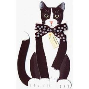 Cat 3 D Birthday Card