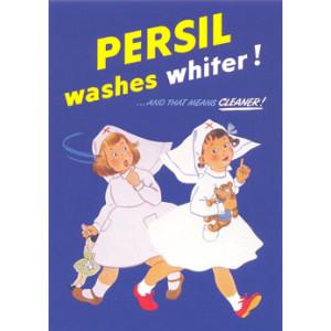 Persil Washing Powder Nostalgic Postcard