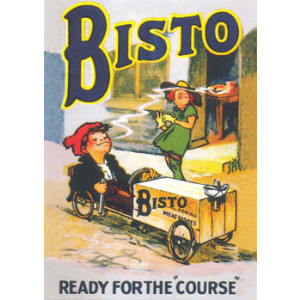Bisto Nostalgic Postcard