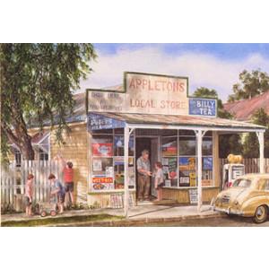 Gordon Hanley Appletons Postcard