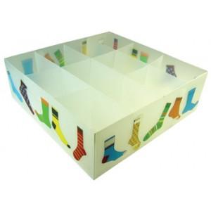 Socks Divided Plastic Storage Box