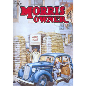 Morris Owner Car Nostalgic Postcard