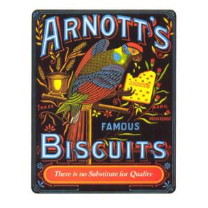 Arnotts Biscuits Parrot Nostalgic Postcard