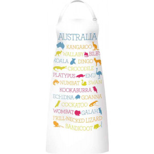Kitchen Apron 100% Cotton Australian Wildlife