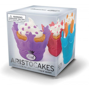 Aristocakes Cupcake Moulds Fit For a King or Queen