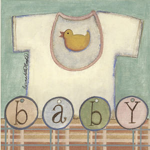 Baby 8 x 8 Print