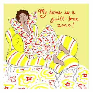 My Home is a Guilt Free Zone! Eyeglasses Cleaning Cloth