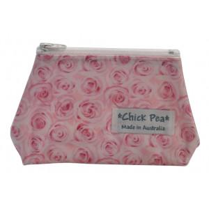 Coin Box Purse Pretty Pink Roses