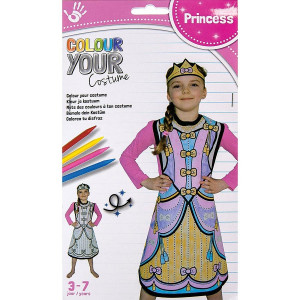 Princess Design Colour Your Costume