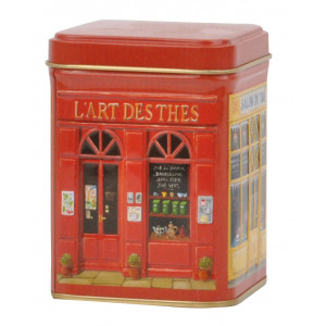 French Boutiques Embossed Shop Tin
