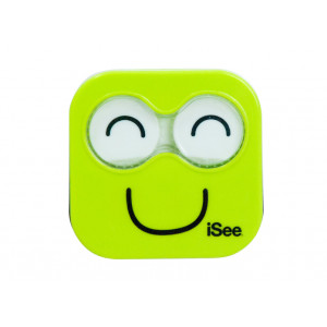 iSee Lime Green Contact Lens Eye Care Kit