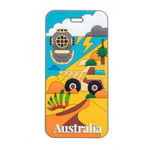 Discover Western Australia Travel Suitcase Bag Luggage Tag