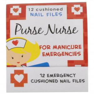 Purse Nurse 12 Emergency Cushioned Nail Files