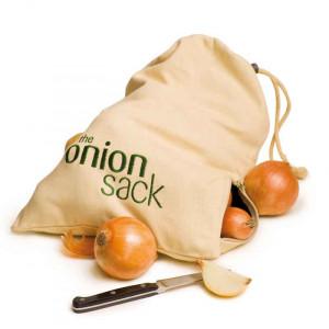Onion Storage Sack 100% Breathable Cotton