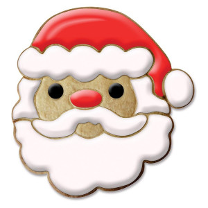 Extra Large Christmas Santa Face Cookie Cutter