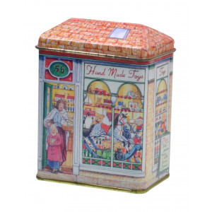 Small Decorative Tin Collectable Storage Hand Made Toys Shop