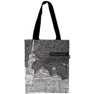 Shopping Carry Bag Flinders Street Station Melbourne Souvenir