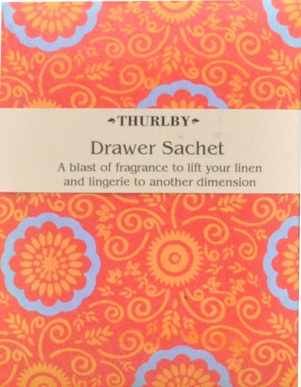 Botanical Orange Scented Fragrant Drawer Sachet