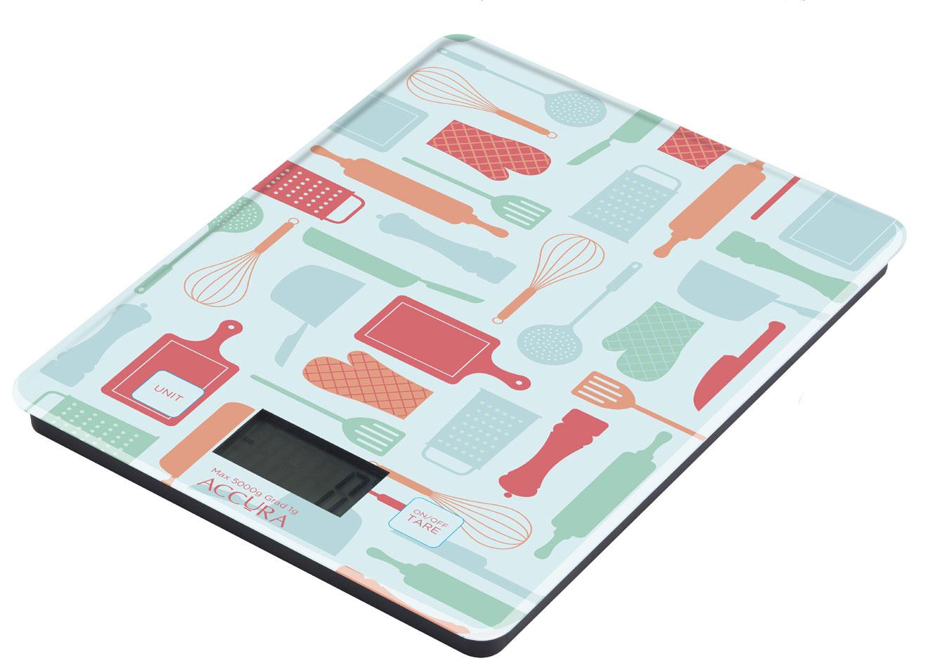 Designer Kitchen Scales Designline Glass Digital