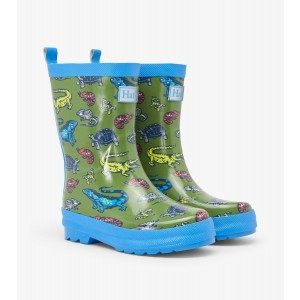 Aquatic Reptiles Shiny Kids Rainboots Gumboots By Hatley