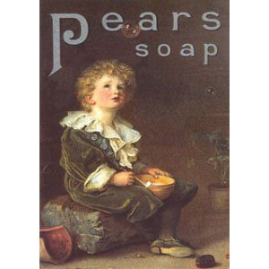 Pears Soap Boy & Bubbles Nostalgic Postcard
