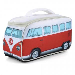VW Volkswagen T1 Kombi Van Insulated Cooler Lunch Bag Red