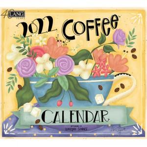 Coffee Lorilynn Simms 2022 Lang Wall Calendar