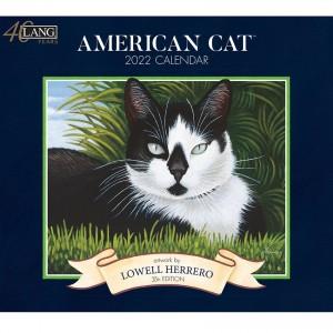 American Cat Lowell Herrero 2022 Lang Wall Calendar