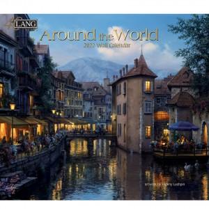 Around The World Evgeny Lushpin 2022 Lang Wall Calendar