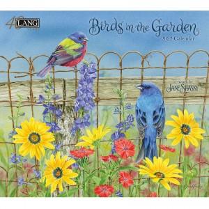 Birds in The Garden Jane Shasky 2022 Lang Wall Calendar