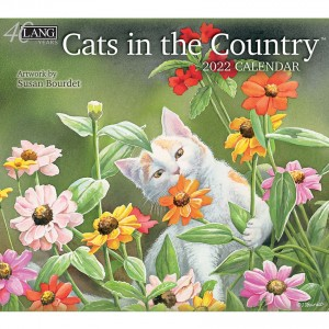 Cats in The Country Susan Bourdet 2022 Lang Wall Calendar