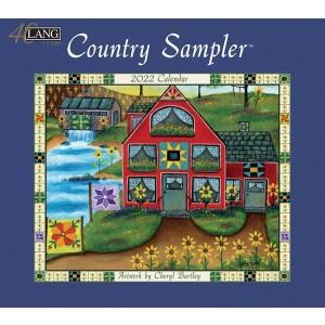 Country Sampler Cheryl Bartley 2022 Lang Wall Calendar