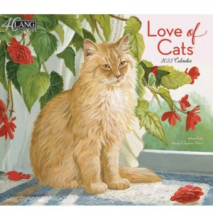 Love of Cats Persis Clayton Weirs 2022 Lang Wall Calendar
