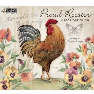 Proud Rooster Susan Winget 2022 Lang Wall Calendar
