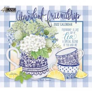 Abundant Friendship Nicole Tamarin 2022 Lang Wall Calendar
