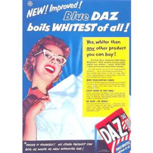 Blue Daz Nostalgic Postcard
