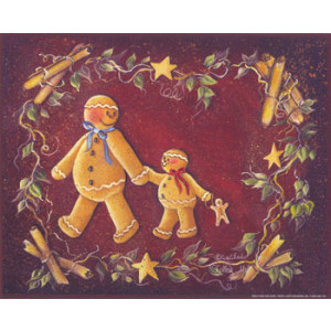 Gingerbreads 8 x 10 Print