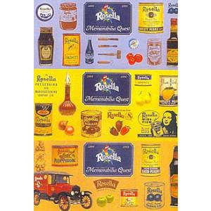 Rosella Preserves Nostalgic Postcard