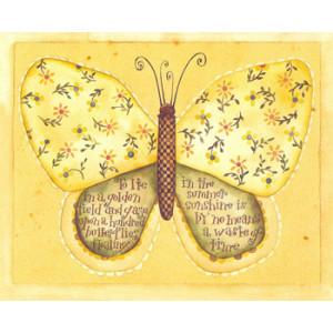 Butterfly Greeting Card by Karen Hillard Crouch