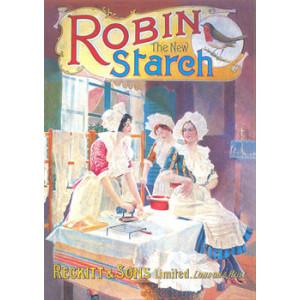 Robin Starch Reckitt & Sons Nostalgic Postcard