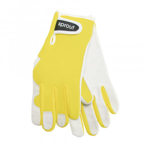 Sprout Ladies Gardening Gloves Yellow