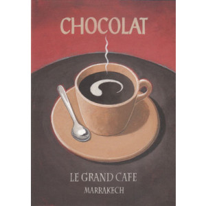 Chocolat Greeting Card by Martin Wiscombe