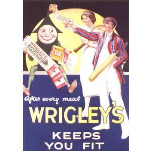 Wrigleys Chewing Gum Nostalgic Postcard