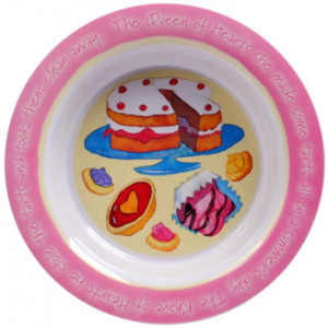 Tea Time Cupcakes Cakes Melamine Bowl