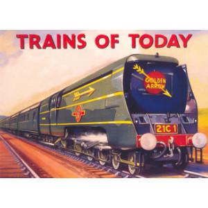 Trains of Today Nostalgic Postcard