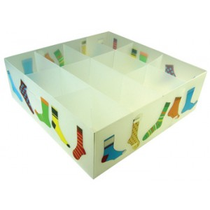 Socks Divided Plastic Storage Box