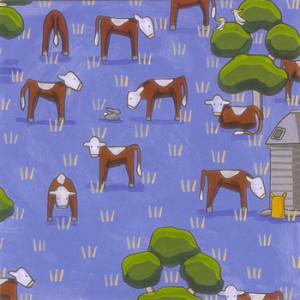 Cows & Cornflowers Rachael Flynn Card